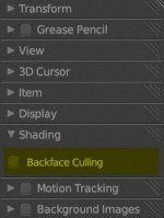 Blender Settings for Cycles Emission plate 1