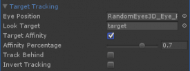 LookTarget settings available in RandomEyes v1.3