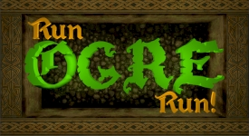 Run OGRE Run Ludum Dare 33 endless runner