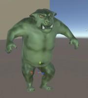Textured Ogre model