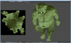 Ogre model and UV