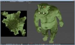 Ogre model and UV