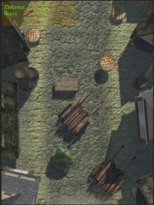 Run OGRE Run - Game map